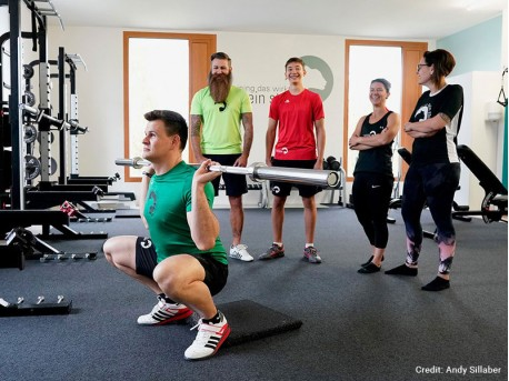 Training, das wirkt - Fitnessstudio